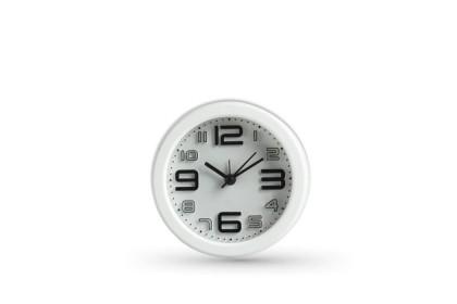 Clock Round Shape Modern Design Alarm Clock 10cm Battery Power - LP540